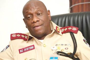 No more two passengers in front seat - FRSC
