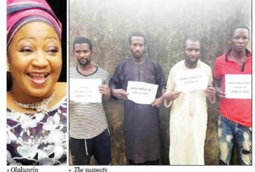 Olakunrin: Police arrest four suspected killers of Fasoranti's daughter