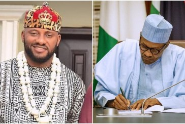 Yul Edochie urges Buhari to quit addressing Nigerians with written notes