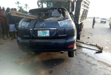 FRSC confirms death of man in head-on collision accident during night journey in Anambra