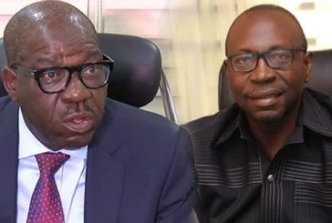 Obaseki expresses disappointment at Buhari's endorsement of Ize-Iyamu, states APC candidate accused of N700m financial misappropriation