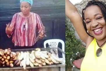 Lucy: Photos of BBN star roasting fish surface