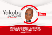 INEC: A golden chance for Nigeria's electoral umpire - Yakubu Mohammed