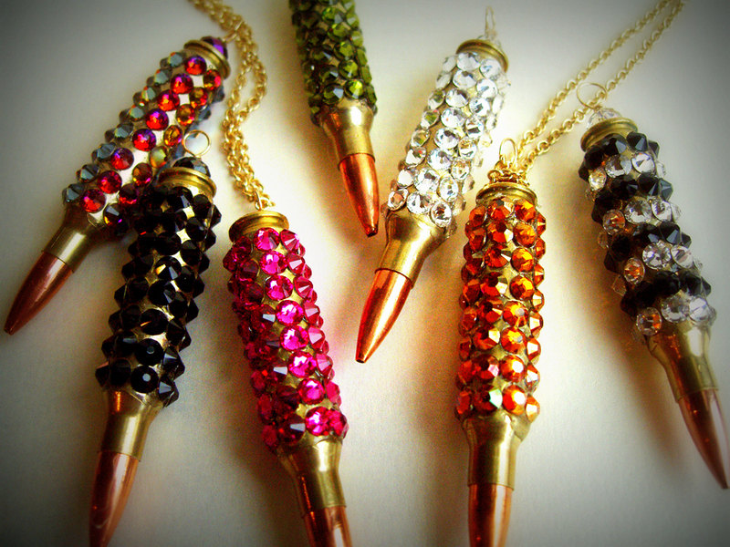 Fall Trend #9: Bullet Necklaces  (5/6)