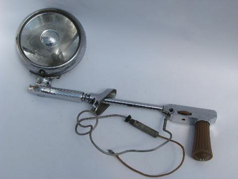 Retro Vintage Chrome Spotlight BLC Sealed Spot Automotive Head Light
