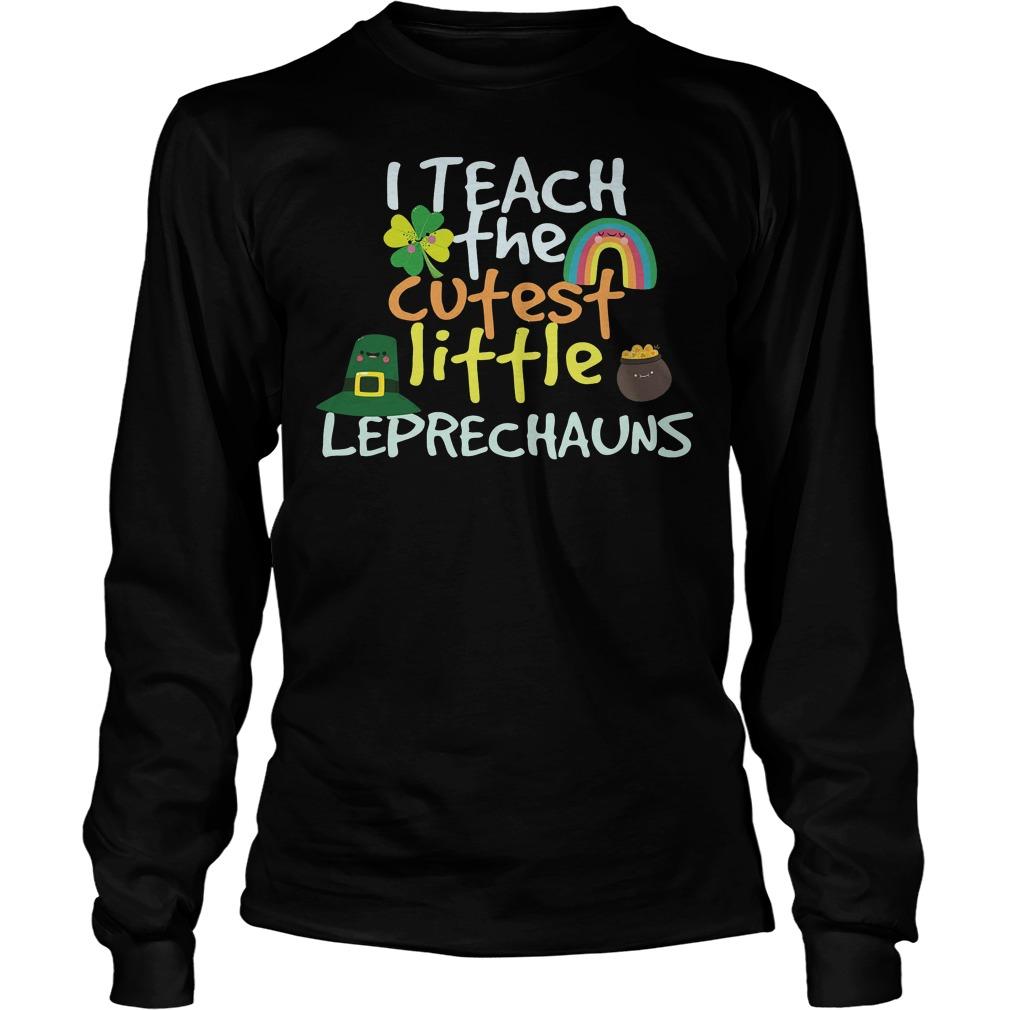 I Teach Cutest Little Leprechauns Shirt 4
