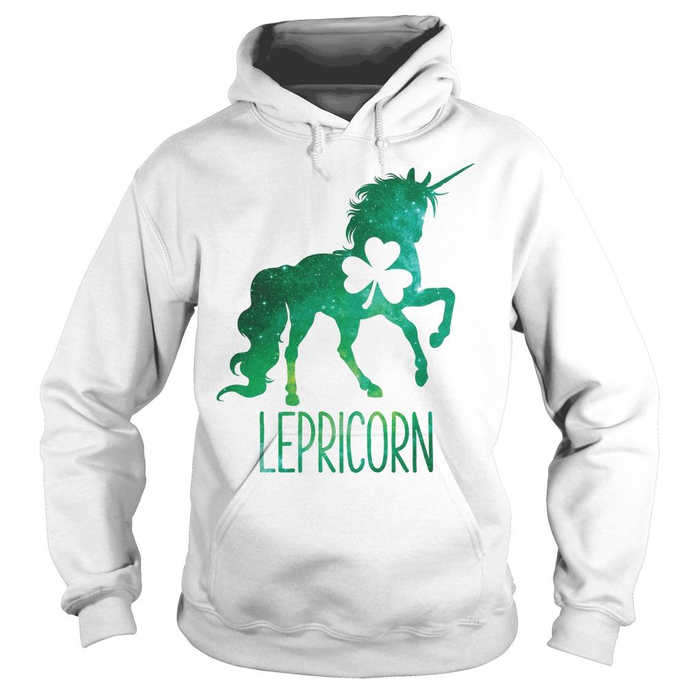 Lepricorn Leprechaun Unicorn Hoodie