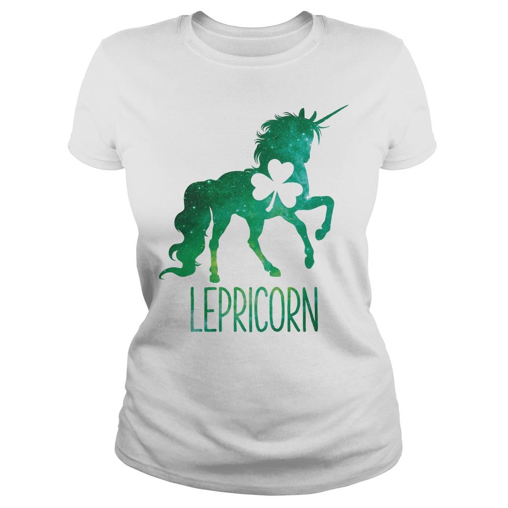 Lepricorn Leprechaun Unicorn Ladies