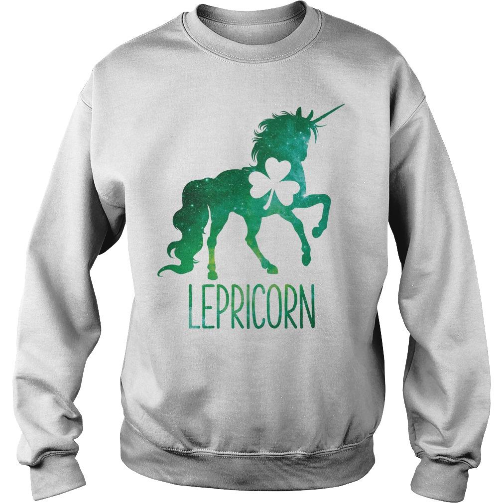 Lepricorn Leprechaun Unicorn Sweater