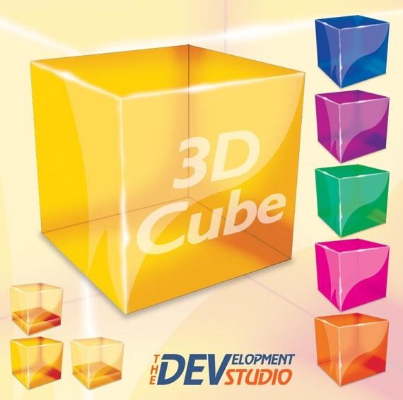 Photoshop_3D_Cube