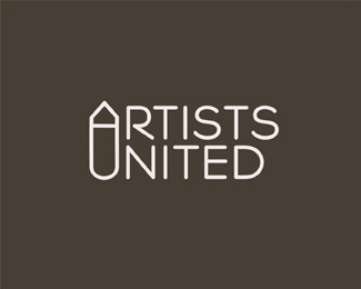 artists-united typographic logo inspiration