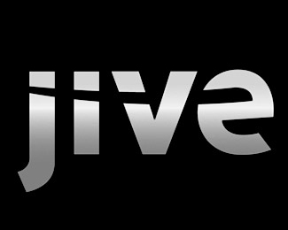 jive-software typographic logo inspiration
