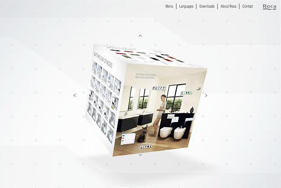 roca-3d-flash-inspiration-webdesign