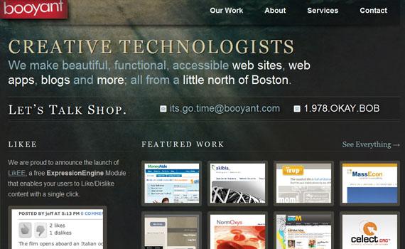 Booyant-looking-textured-websites