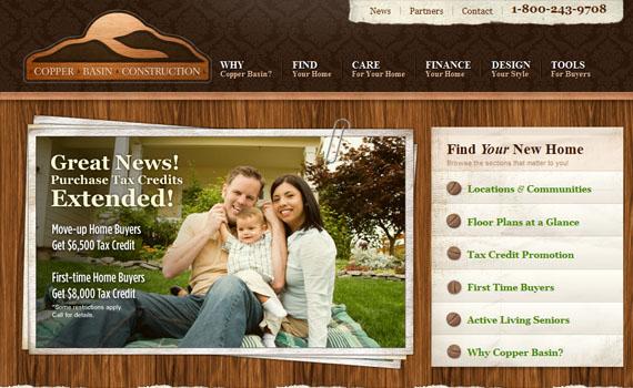 Copper-basin-looking-textured-websites