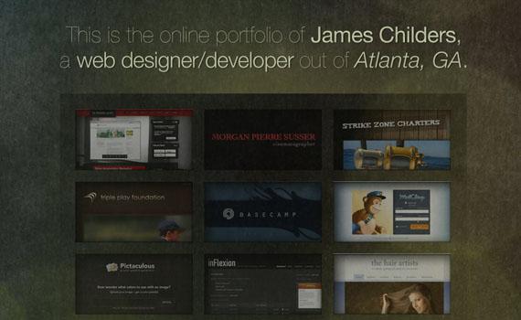 James-childers-portfolio-looking-textured-websites