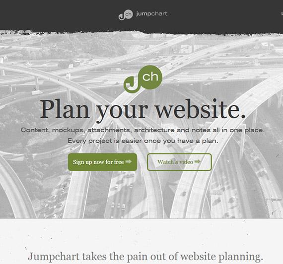 jumpchart-website-planing-tool