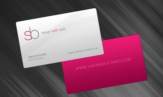 creative minimal business card design inspiration 13-minimal-business-cards
