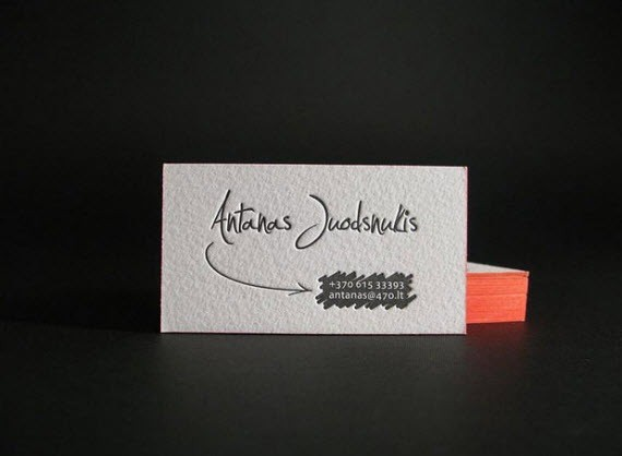 creative minimal business card design inspiration anatas-minimal-business-cards