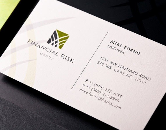 creative minimal business card design inspiration finance-minimal-business-cards