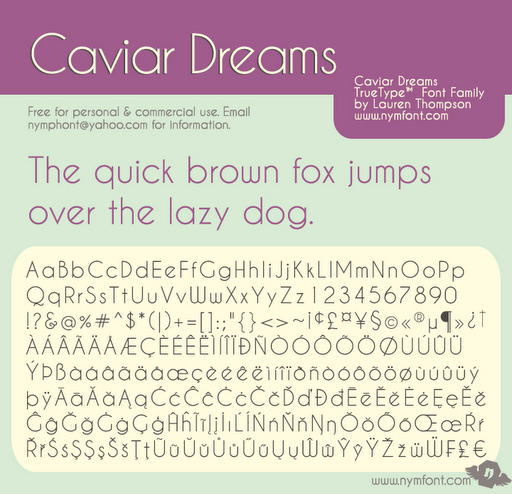 Caviar-dreams-free-fonts-minimal-web-design