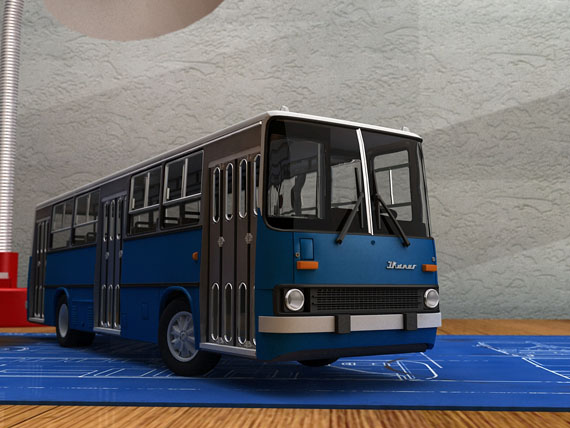 Ikarus_260_city_bus_by_Lorddarthvik
