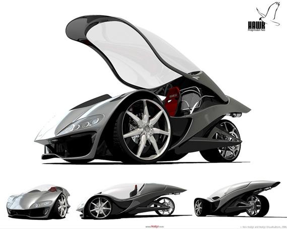 Hawk concept vehicle