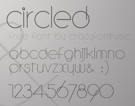 circled-free-high-quality-font-web-design
