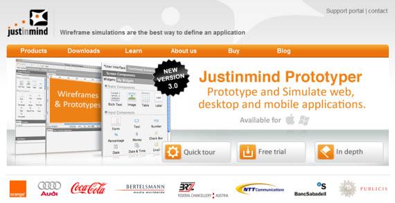 Justinmind-free-premium-wireframing-webdesign-tools