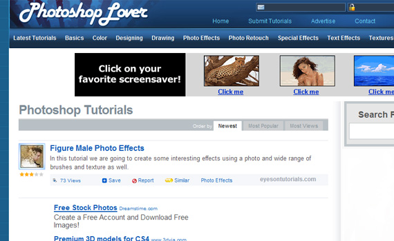 Photoshop-lover-sites-submit-web-design-tutorials
