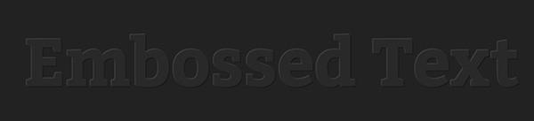 Embossed_Text_Effect___CSSDeck