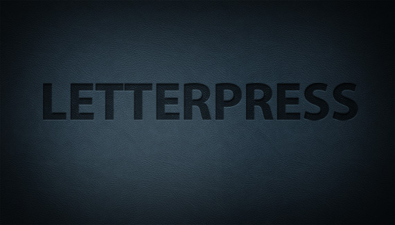 embossed photoshop text effect preview