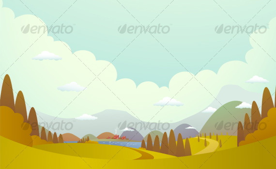 Hill-villages-premium-backgrounds-graphicriver