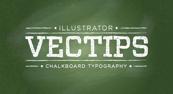 Create a Chalkboard Type Treatment