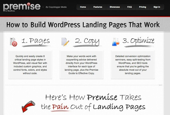 Premise landing pages guide