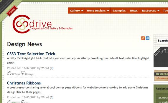 Cssdrive-websites-promote-articles-social