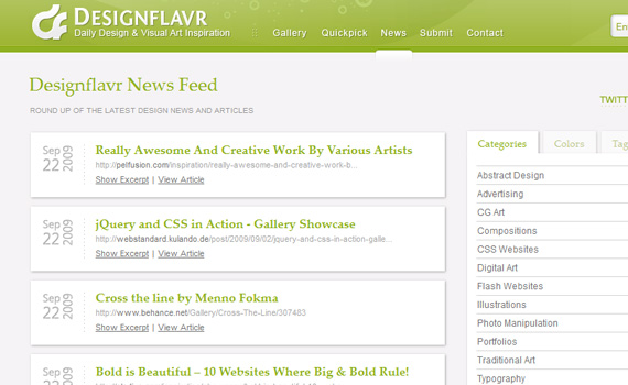 Designflavr-websites-promote-articles-social