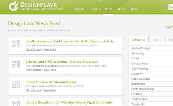 Designflavr-websites-promote-articles-social