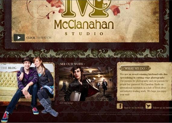 footer design inspiration Mcclanahanstudio