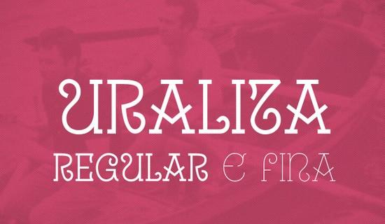 Uralita free fonts 2015