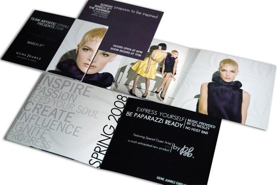 Gene Juarez Spring Event brochure