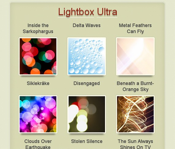 how to create a lightbox javascript