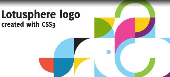 Recreating the IBM Lotusphere logo in CSS3
