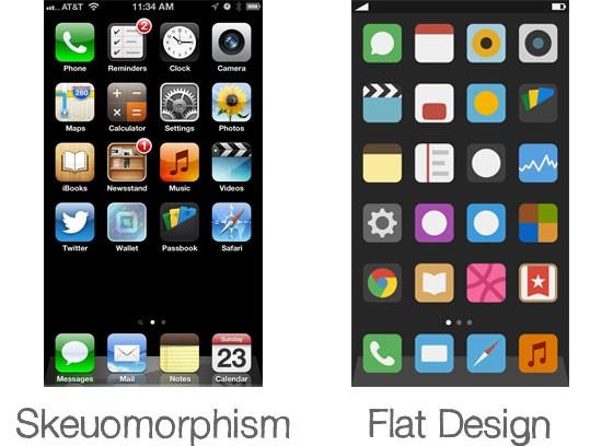 skeumorphic-02-comparison-flat