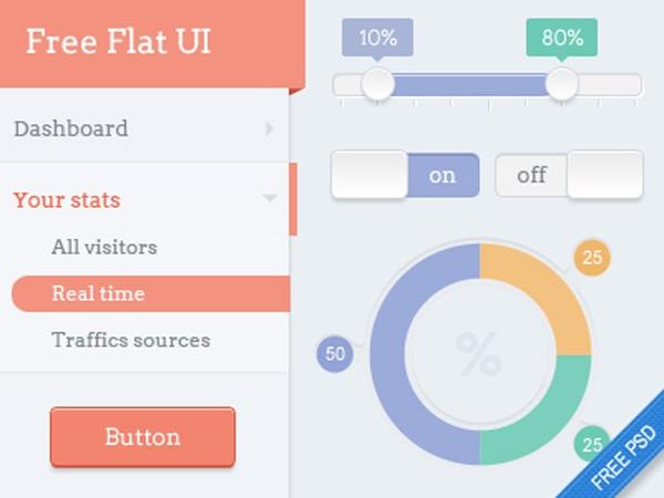 free-flat-UI-kit-35