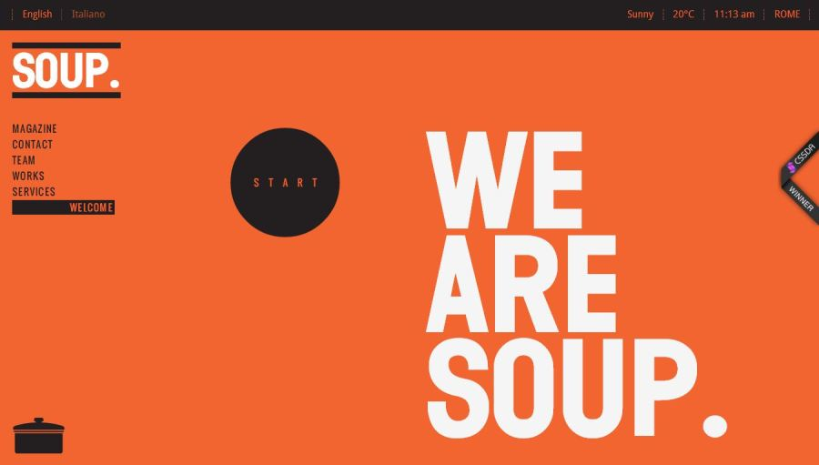clean web design inspiration 25