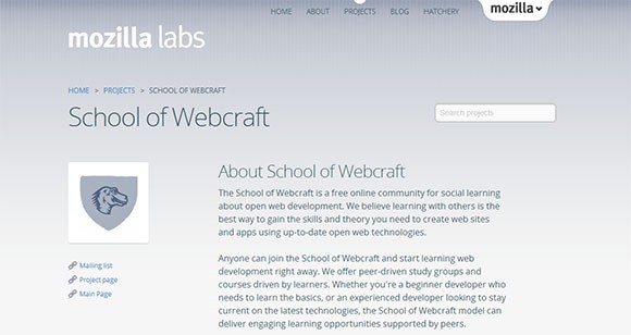 School Of Webcrafts