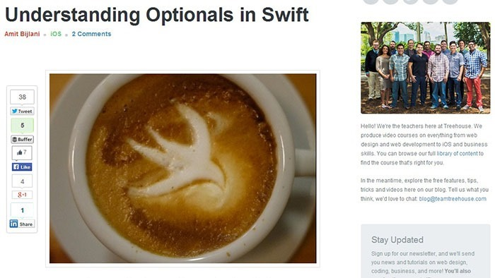 Understanding Optionals in Swift