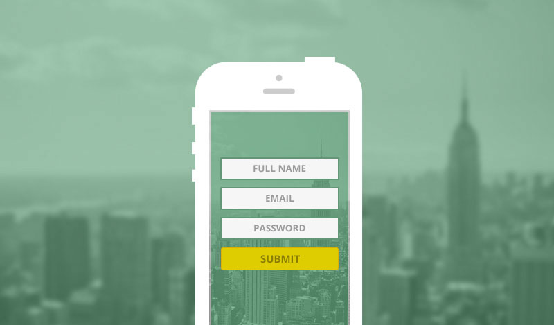 mobile responsive form
