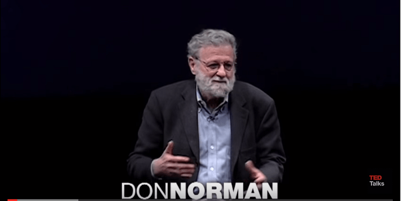 Don Norman shares what kind of design becomes successful